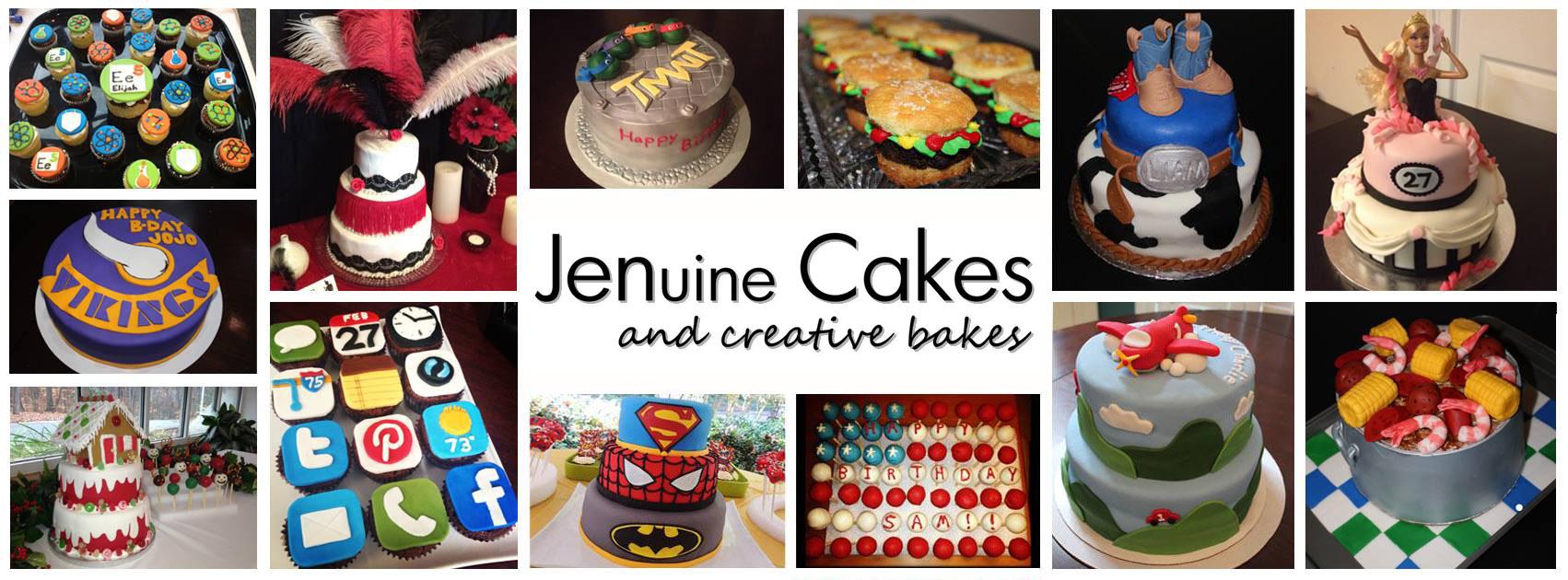 Jenuine Cakes