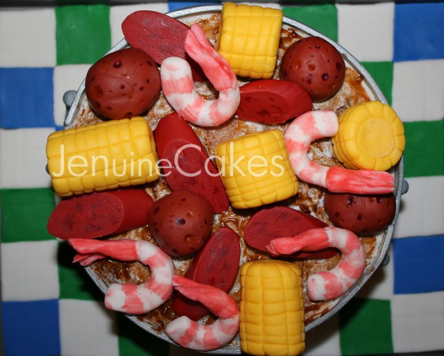 0 Low Country Boil Cake 2