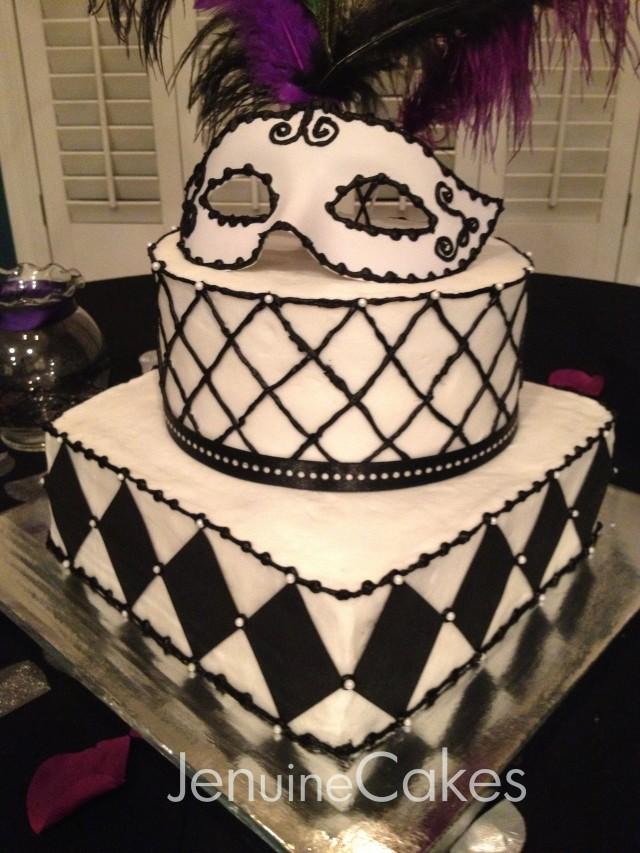 0 Masquerade Cake 2