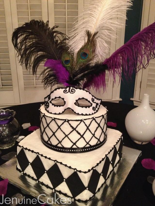 0 Masquerade Cake 3