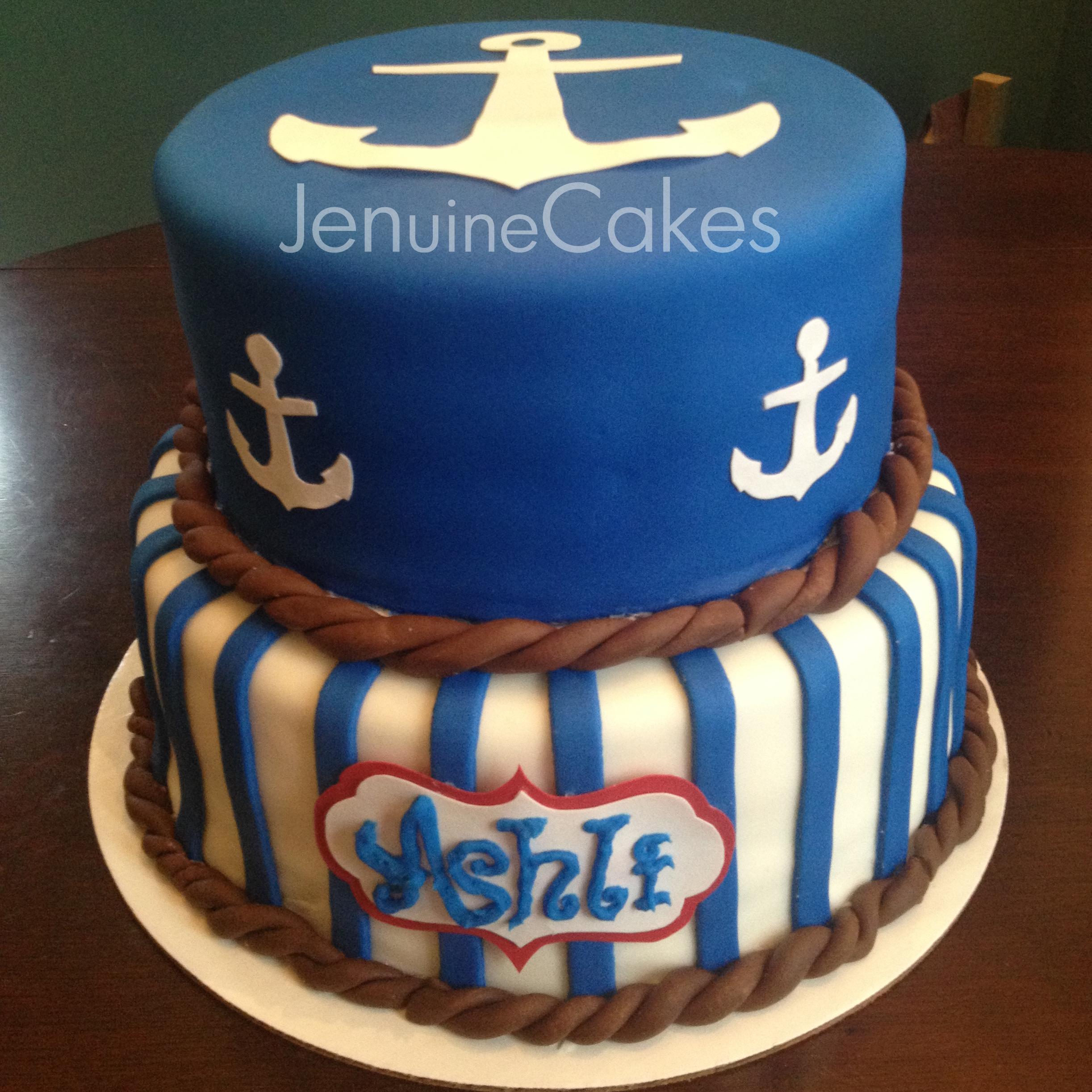 0 Nautical Cake 1