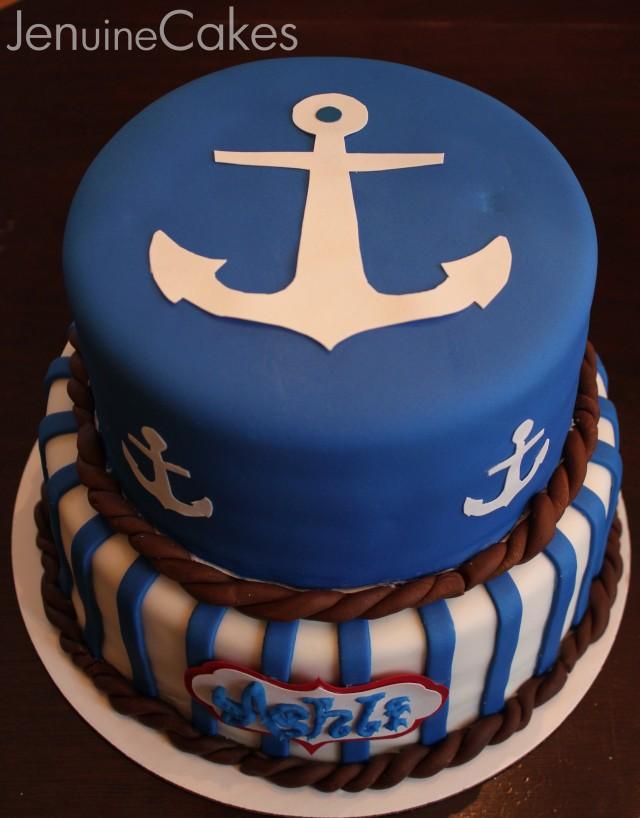 0 Nautical Cake 2