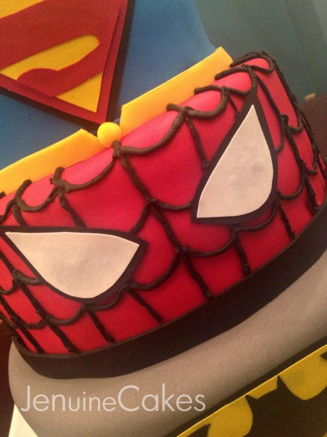 0 Superhero Cake 2