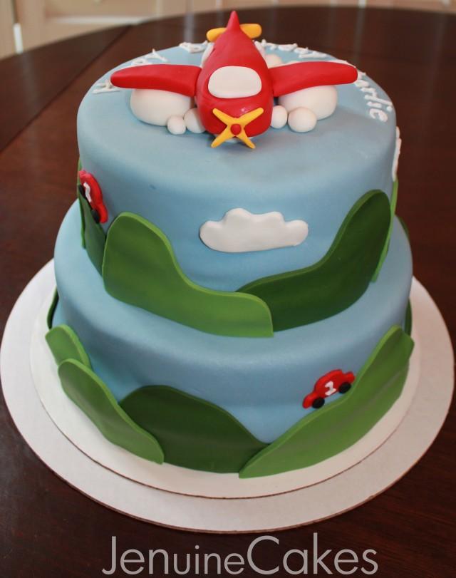 Airplane Birthday Cake Pics