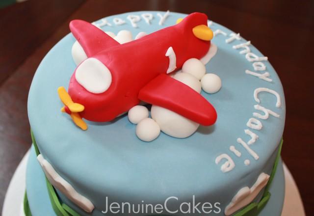 Airplane Birthday Cake 4