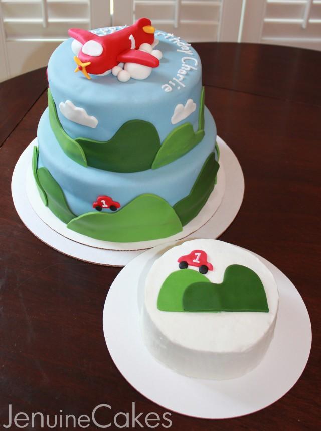 Airplane Birthday Cake 6
