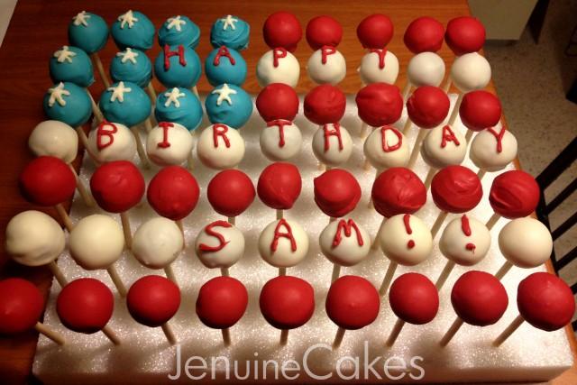 American Flag Cake Pops 3