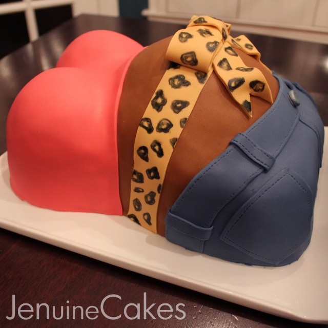 Baby Bump Baby Shower Cake 1