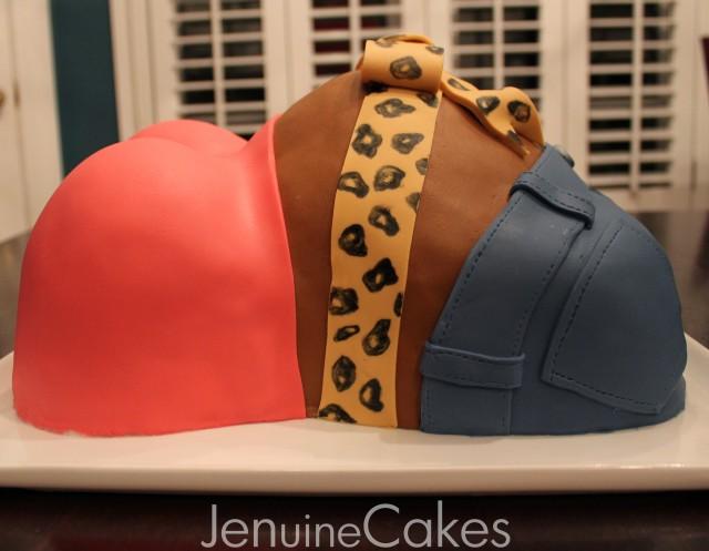 Baby Bump Baby Shower Cake 2