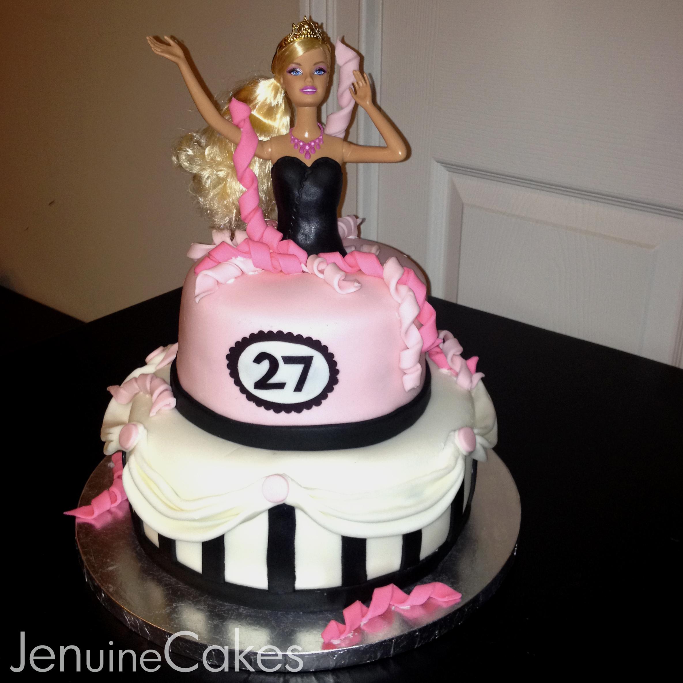 Barbie Cake 1