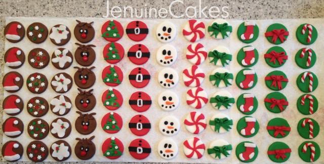 Christmas Cupcakes 5