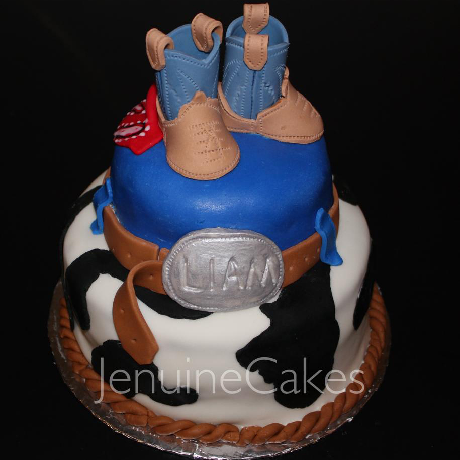 Cowboy Cake 1