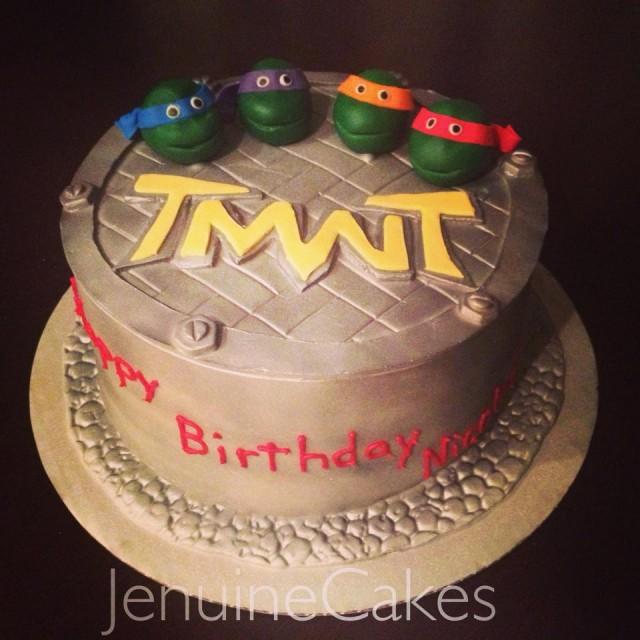 Teenage Mutant Ninja Turtles TMNT Cake Jenuine Cakes